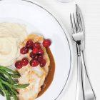 Repas nutritif et délicieux, livrés à domicile